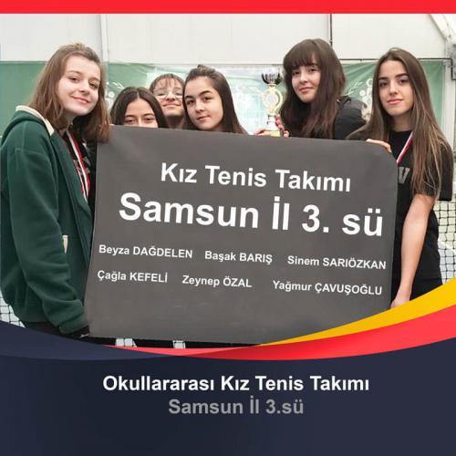 Okullar Arası Kız Tenis Takımı
